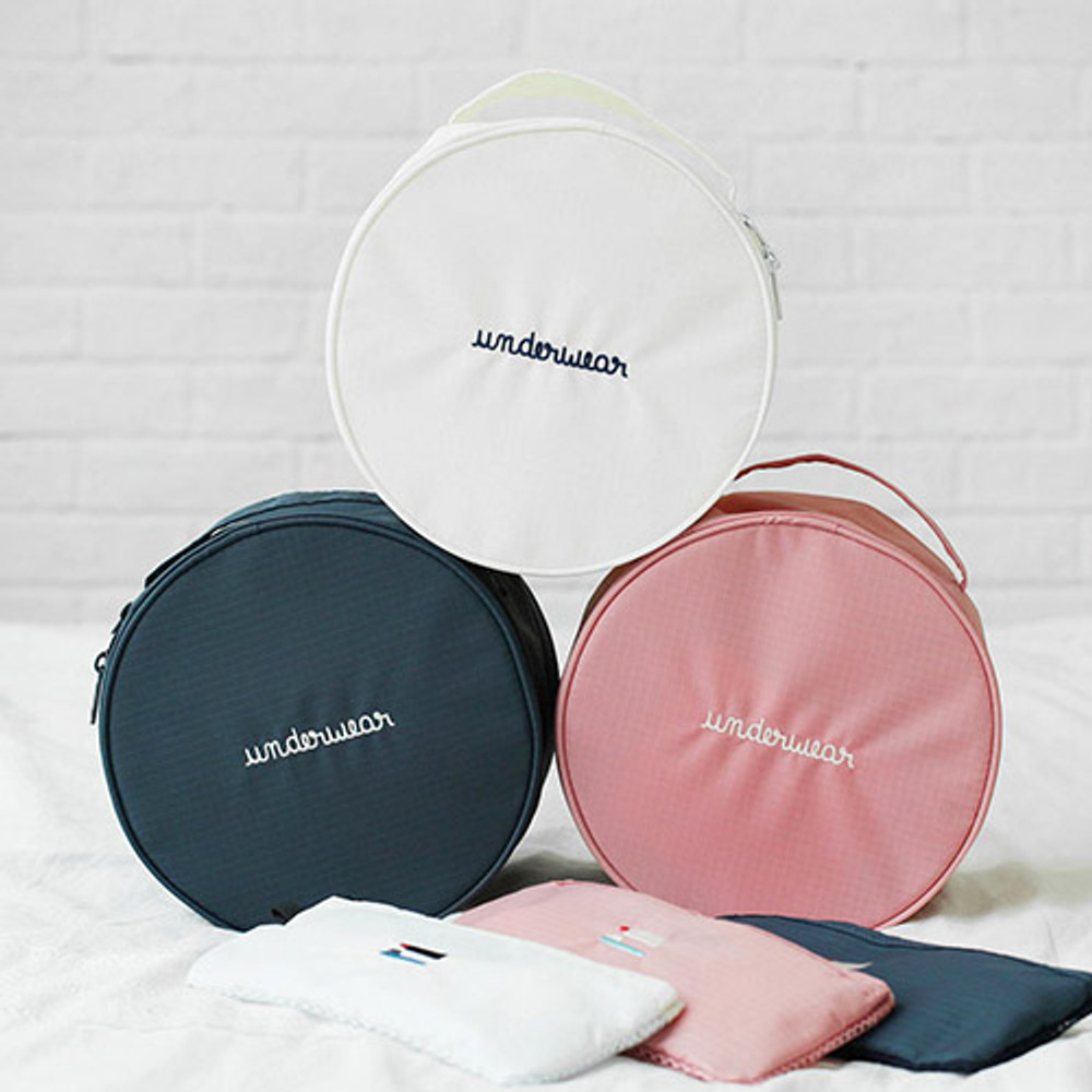 2NUL Circle travel pouch