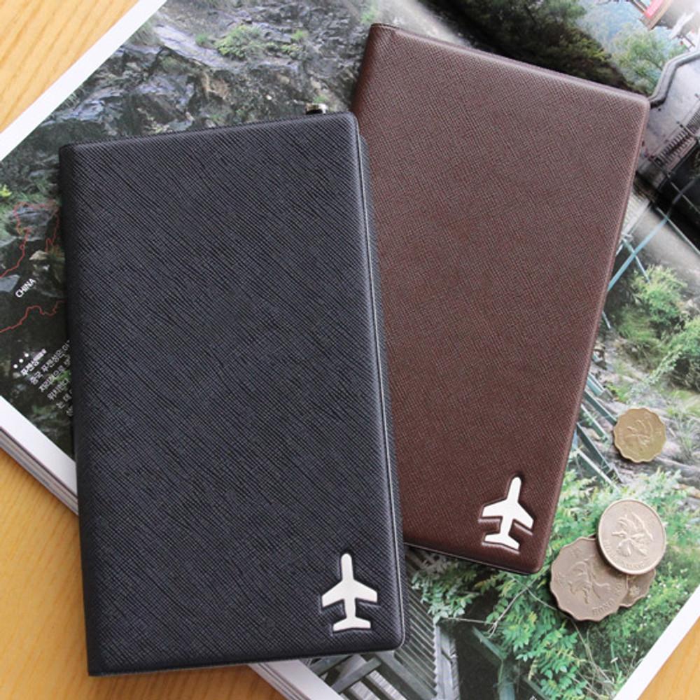 Fenice Simple RFID blocking medium passport cover