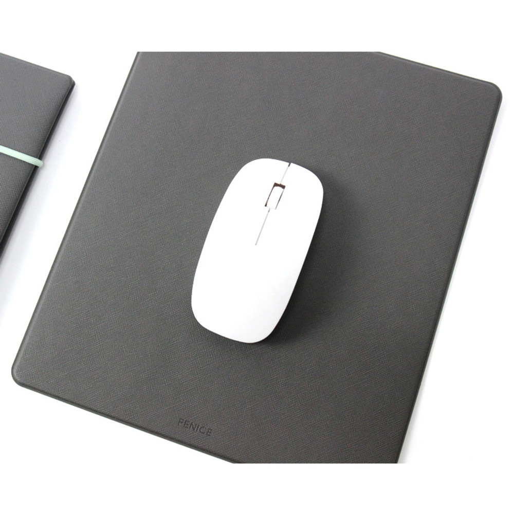 Gray - Fenice Office premium mouse pad