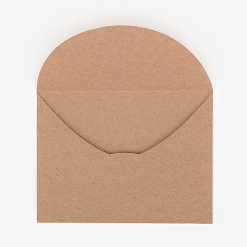 envelope - Dailylike Illustration note message card with envelope