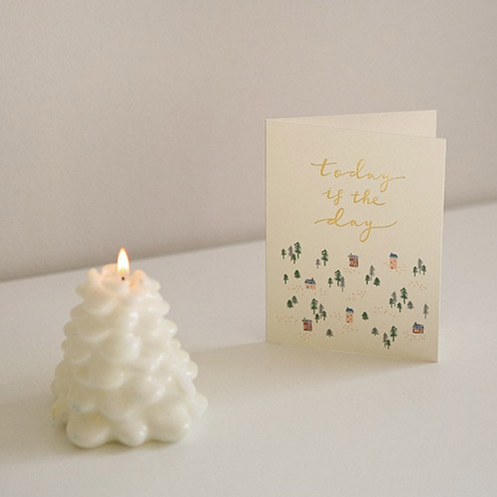 10 - Dailylike Illustration note message card with envelope