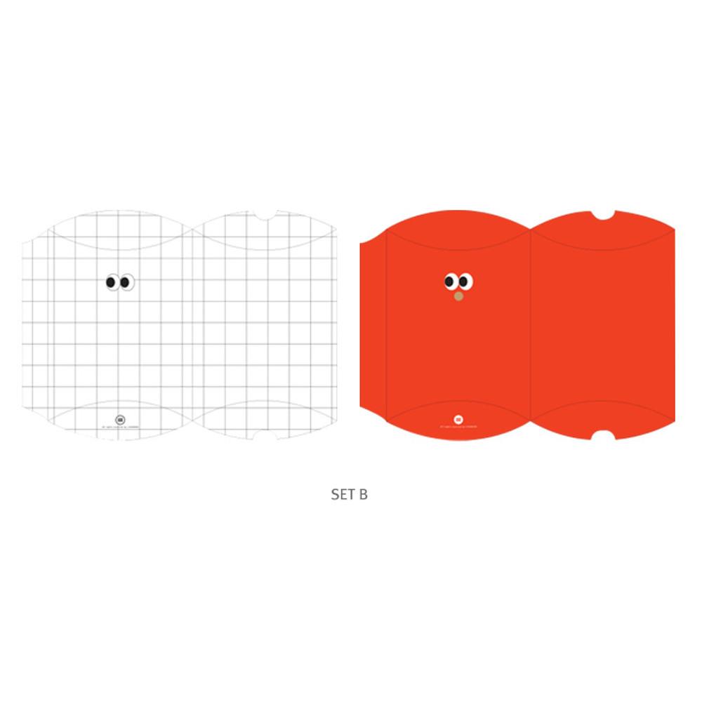 B - Livework Som Som gift paper bag medium set of 4 styles