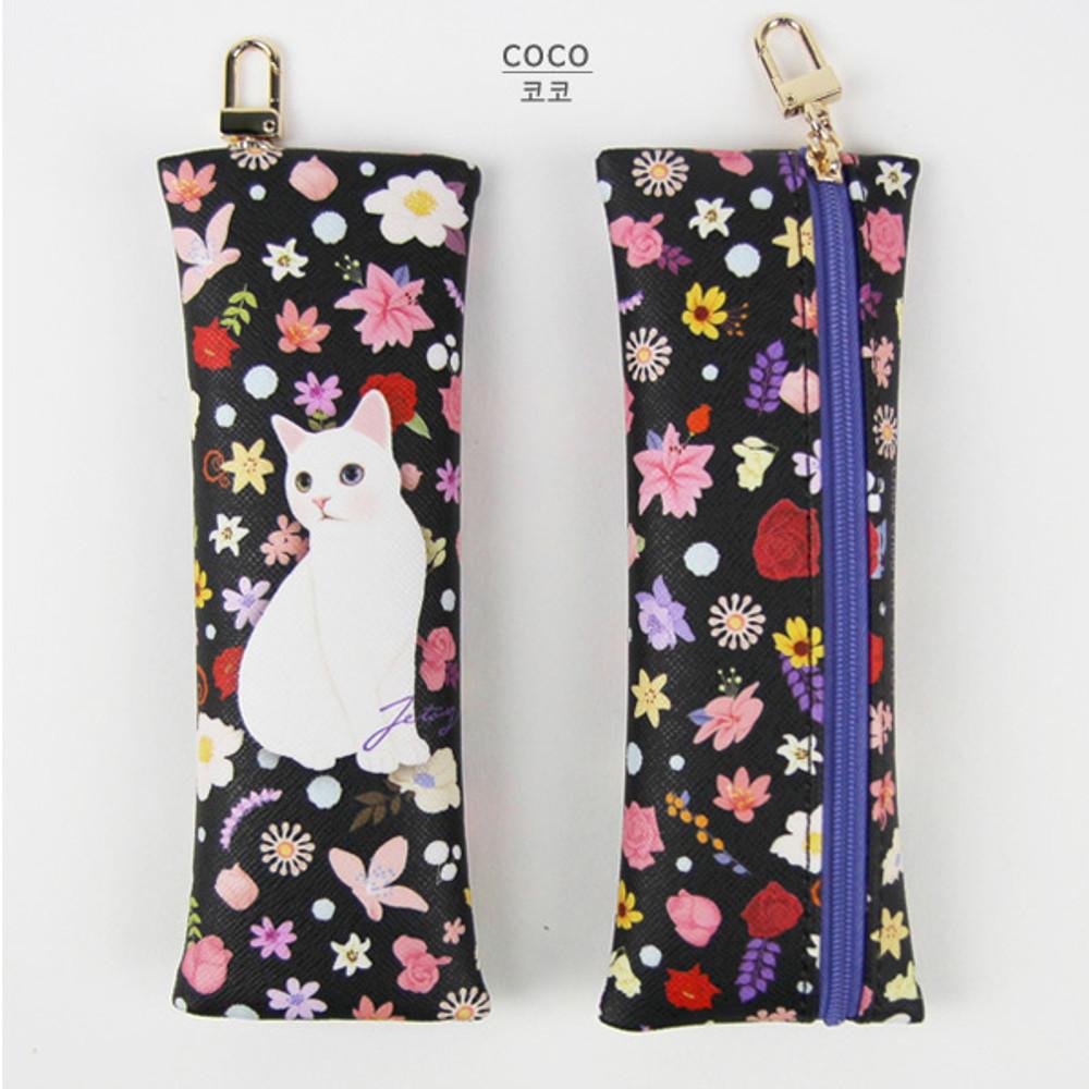 Coco - Choo Choo cat slim pencil case