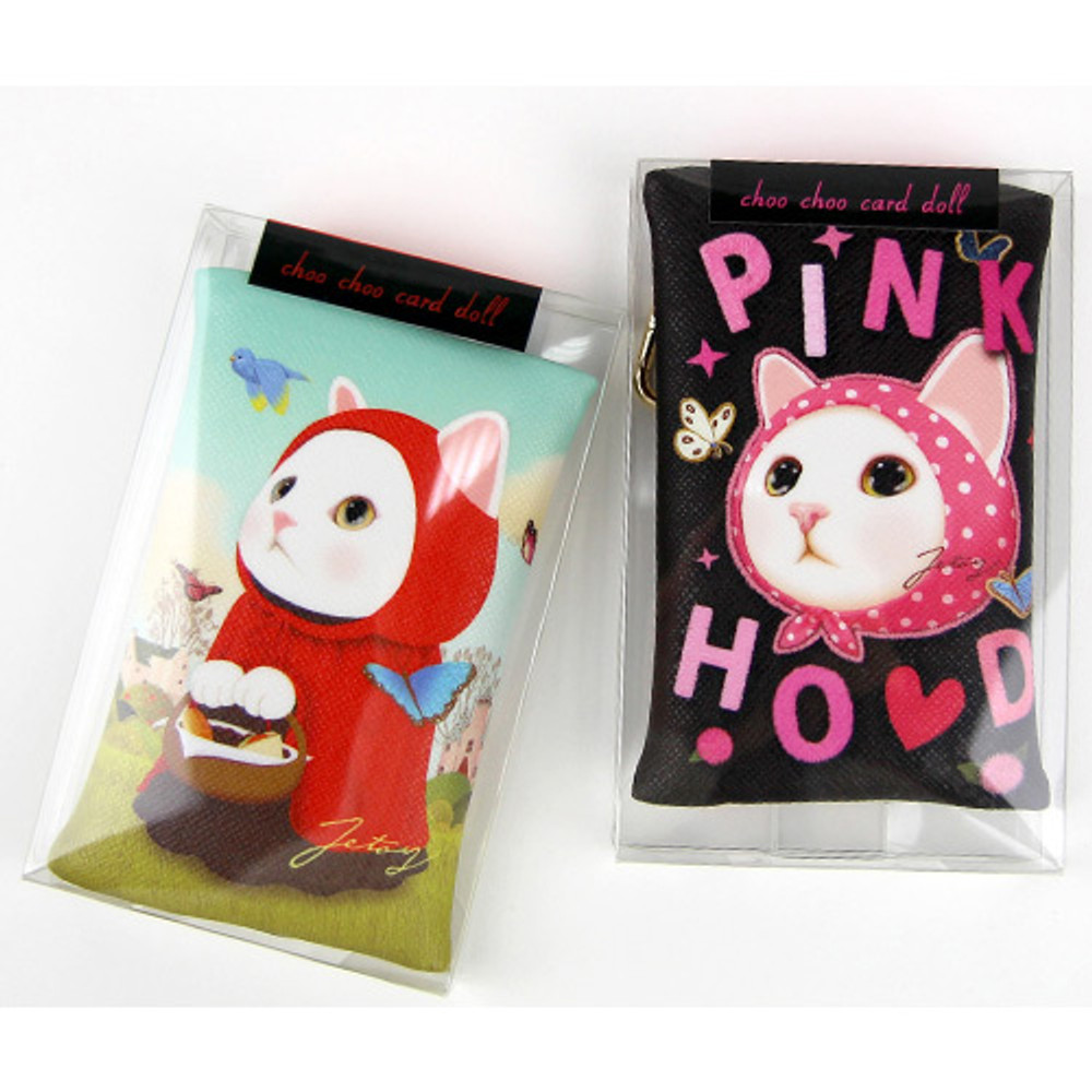 Package for Choo Choo cat card case holder
