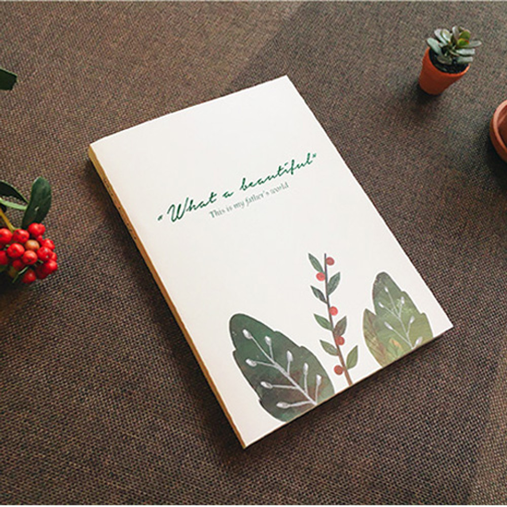 Blessom What a beautiful weekly undated diary scheduler