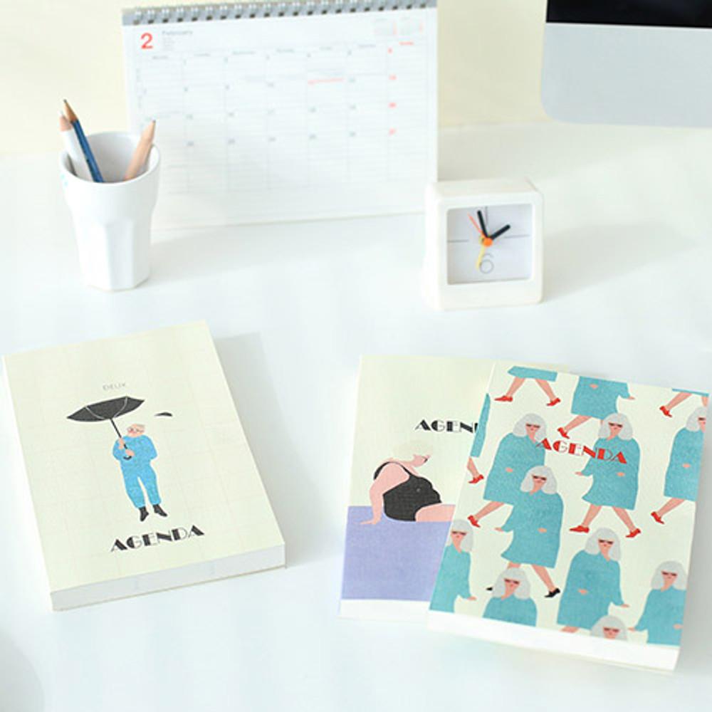 Livework Mon petit agenda weekly undated diary scheduler