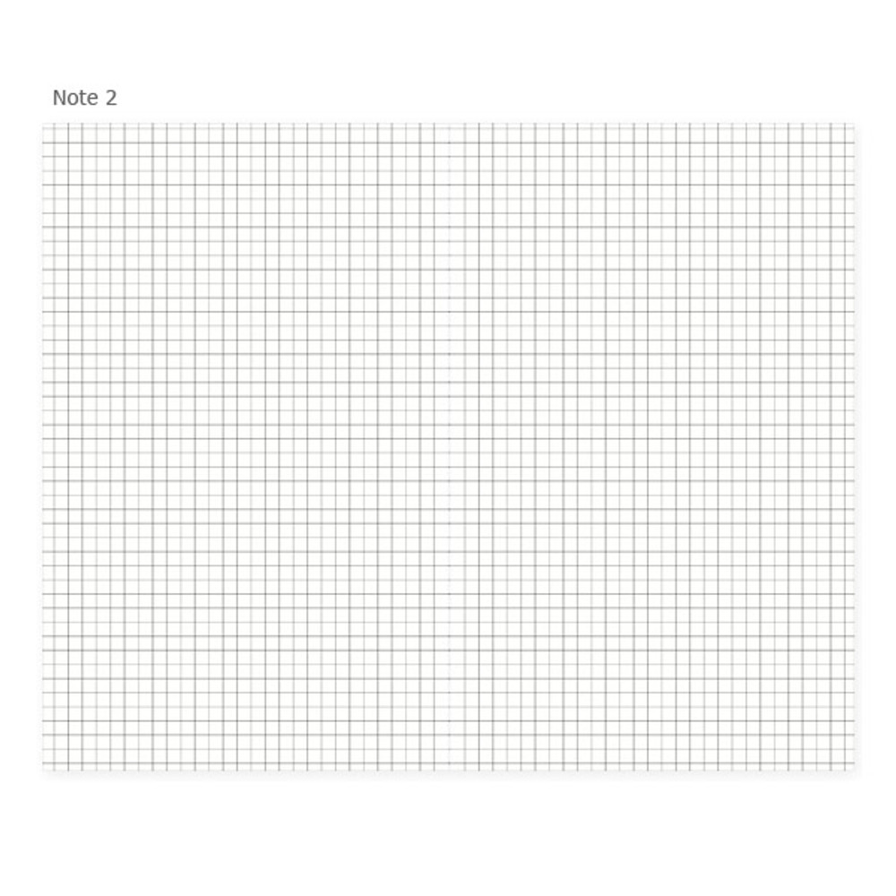 Note 2 - Mon petit agenda weekly undated diary scheduler