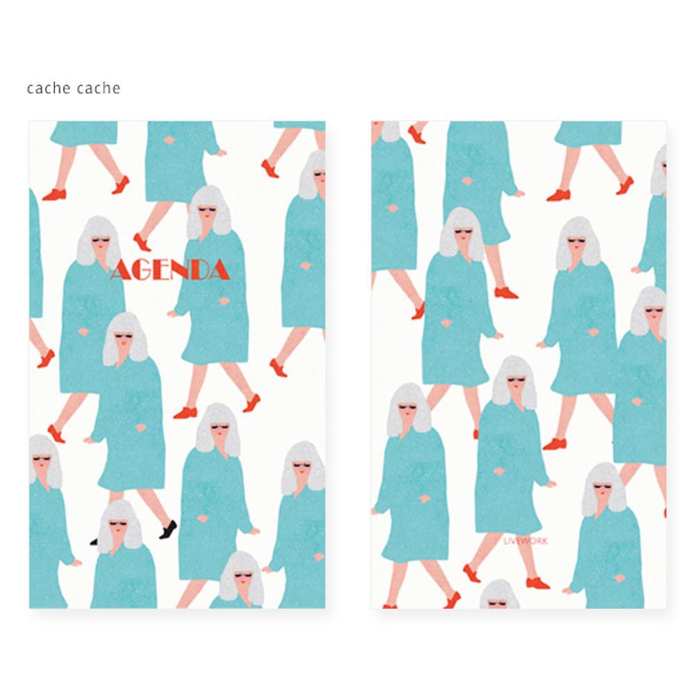 Cache cache - Mon petit agenda weekly undated diary scheduler