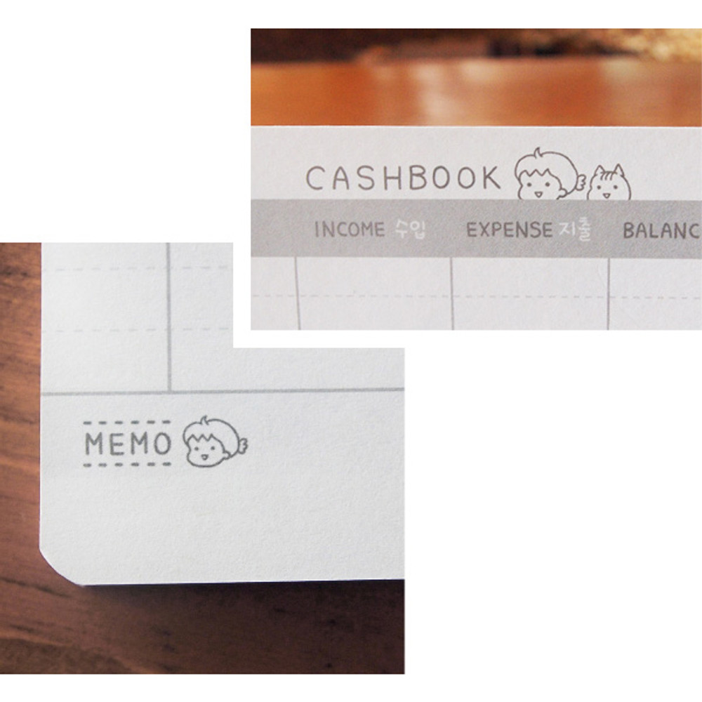 N.IVY Narm's bankbook style cash book planner