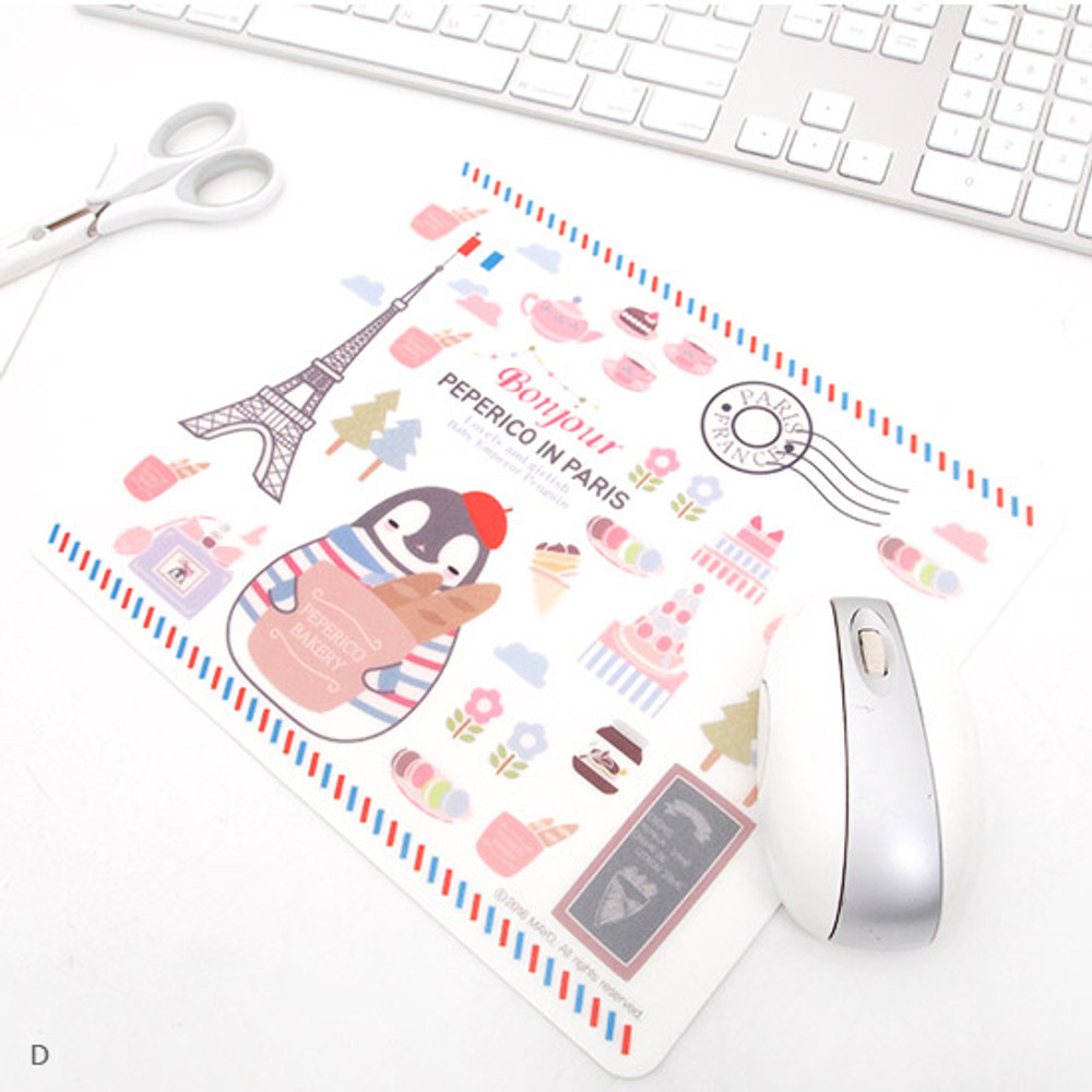 D - 2young Peperico rectangle mouse pad