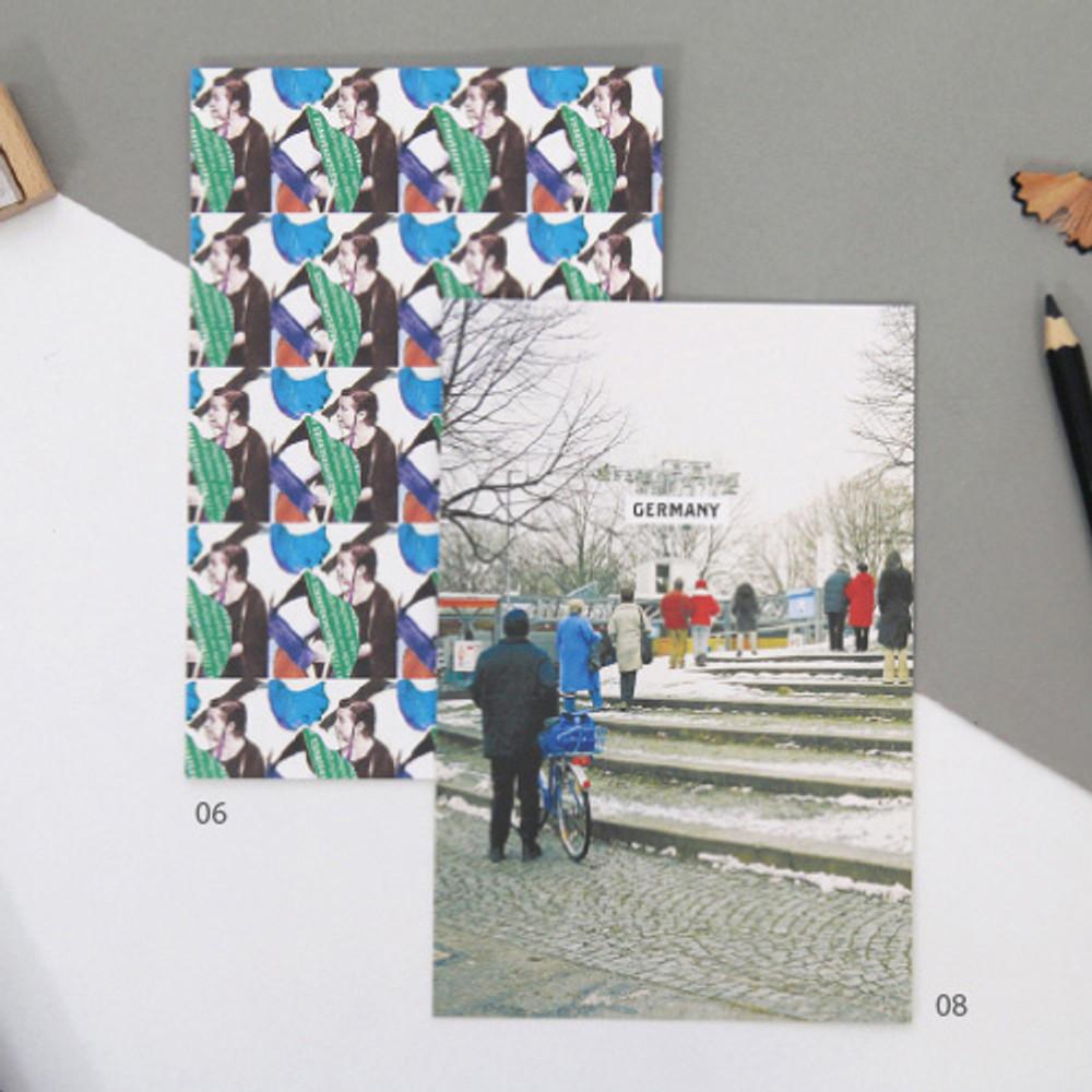 06 / 08 - Design postcard ver.3