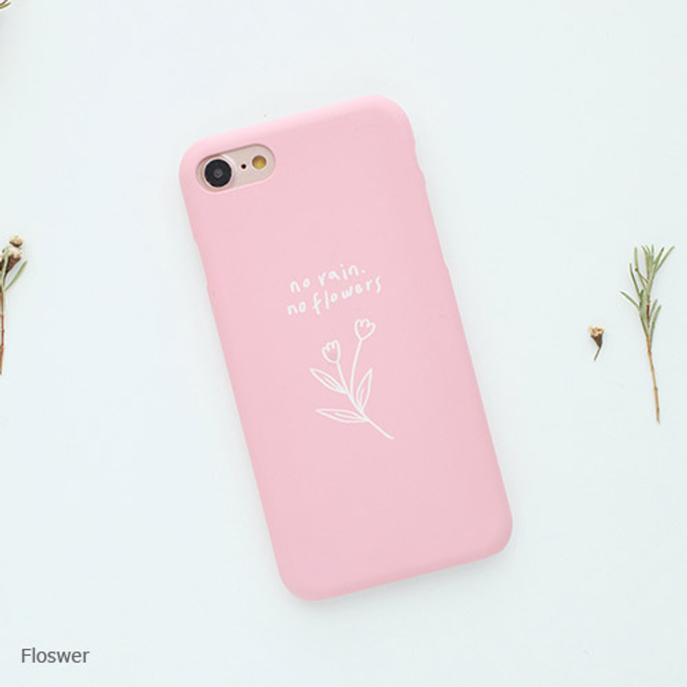 Mette lettering hard case for iPhone 7