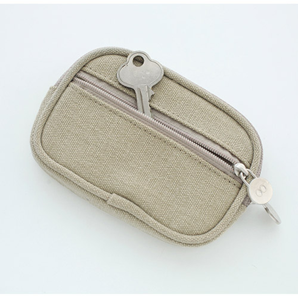 Som Som stitching card case pouch