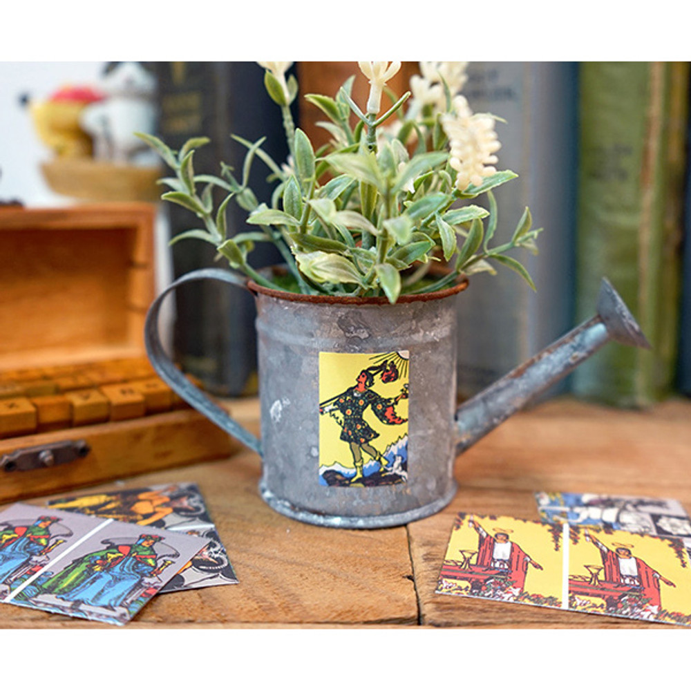 Example of use - Tarot small label sticker set