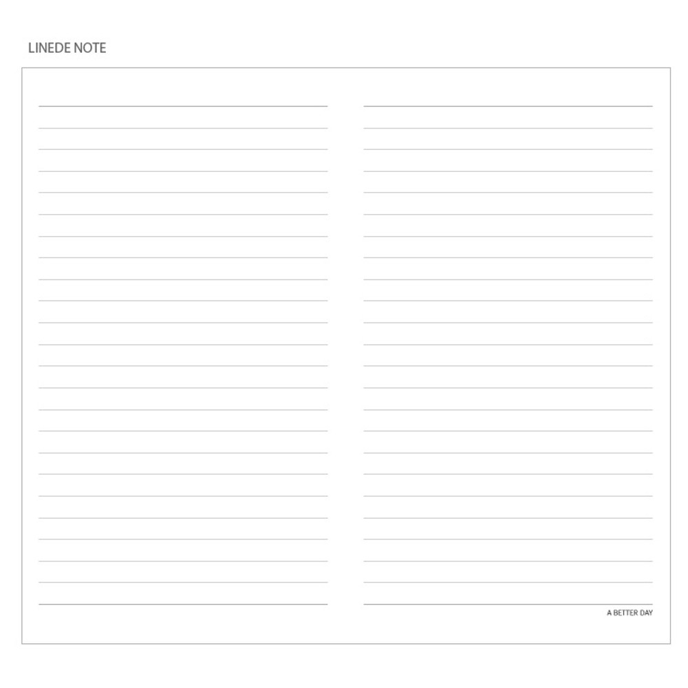 Lined notebook - Prism classic 80 pages lined grid notebook