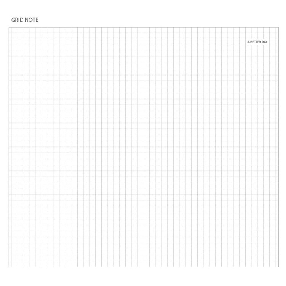 Grid notebook - Prism classic 80 pages lined grid notebook
