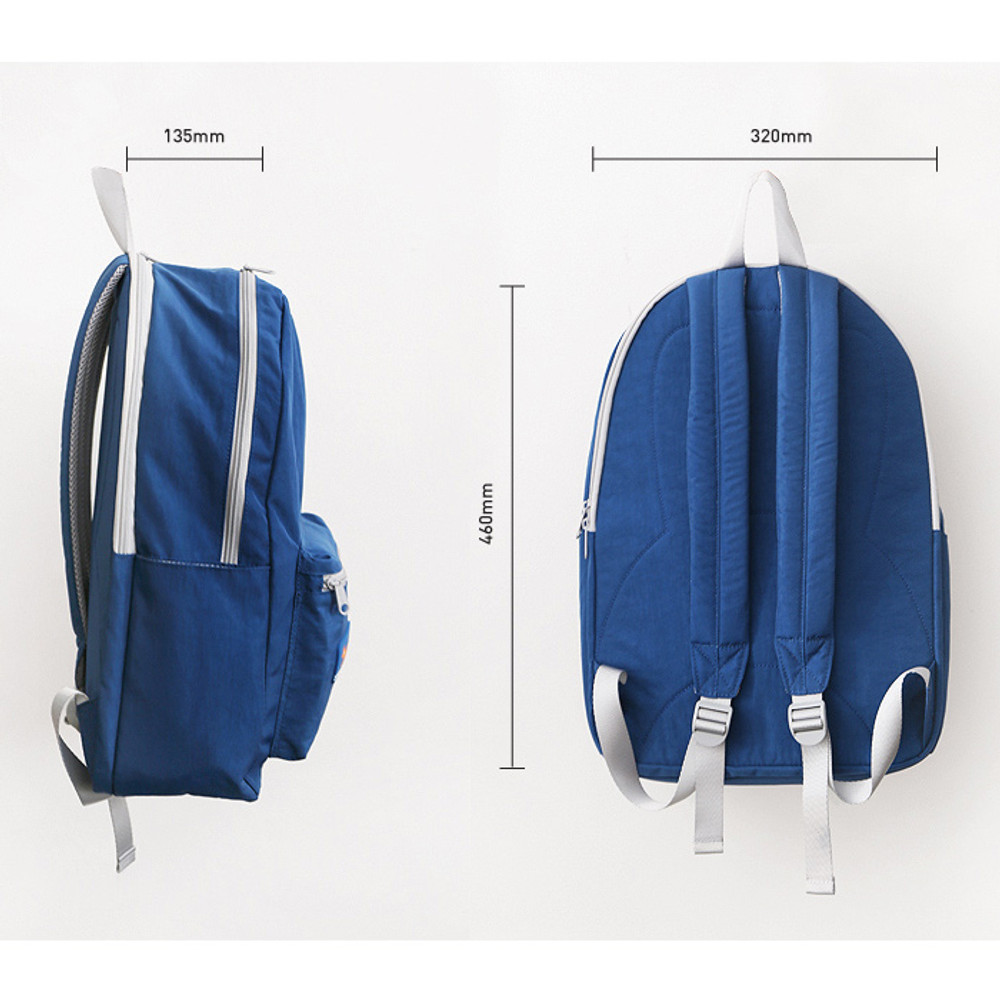 Size of Brunch brother backpack