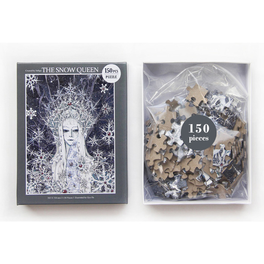 Package of 150 piece jigsaw puzzle - The snow queen