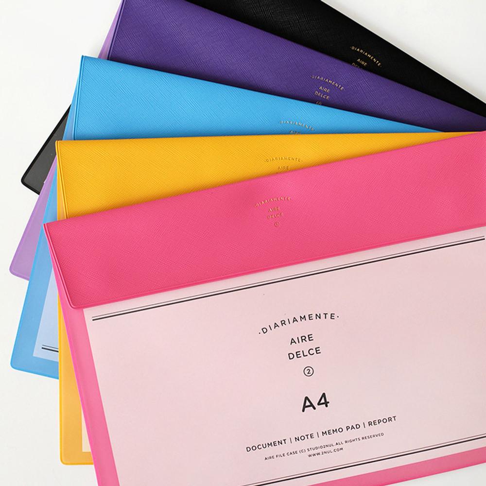 Aire A4 size file folder pouch