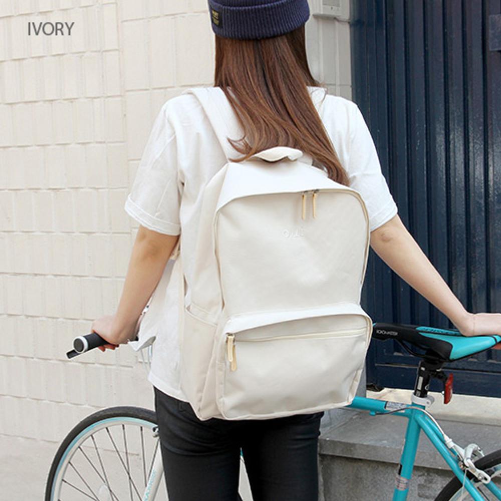 Ivory - Around'D mais oui backpack
