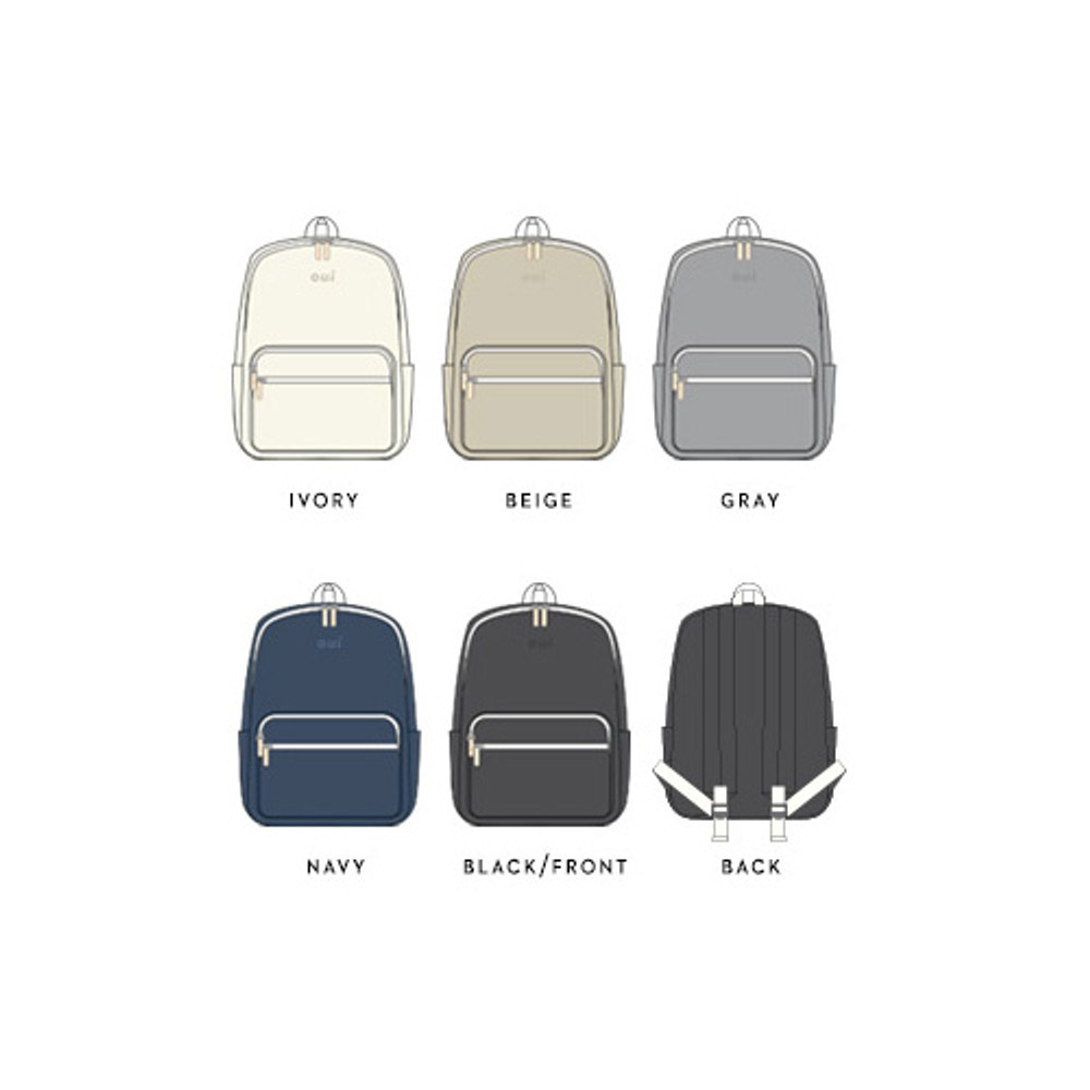 Color of Around'D mais oui backpack