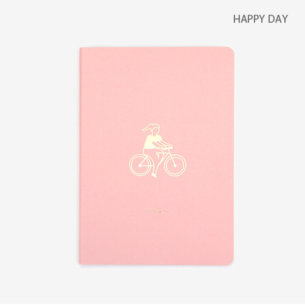 Happy day - Draw your life take notes plain notebook