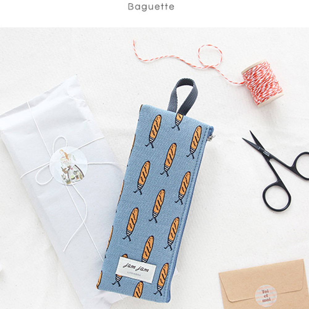 Baguette - Jam Jam webbing pencil case ver2