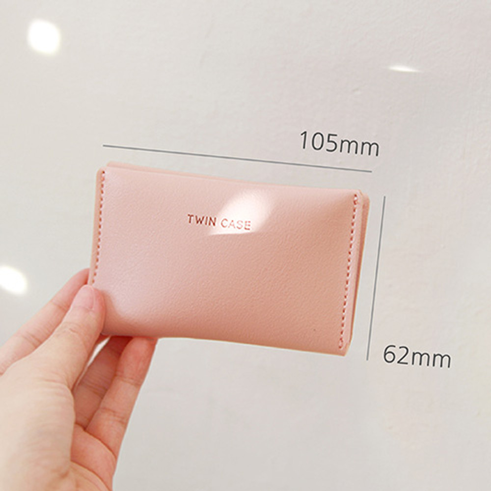 Size of Multi purpose twin pocket card case