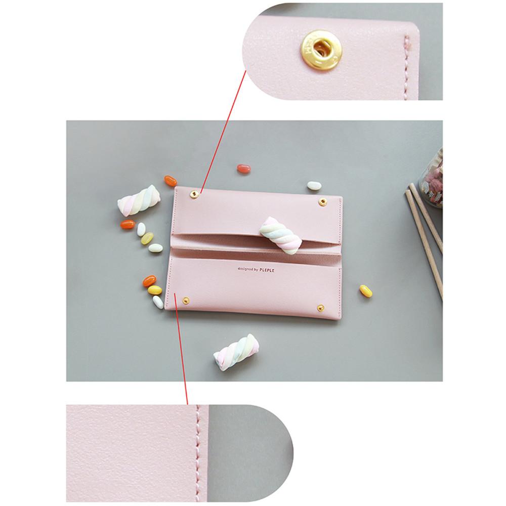 Multi purpose twin pocket pencil case