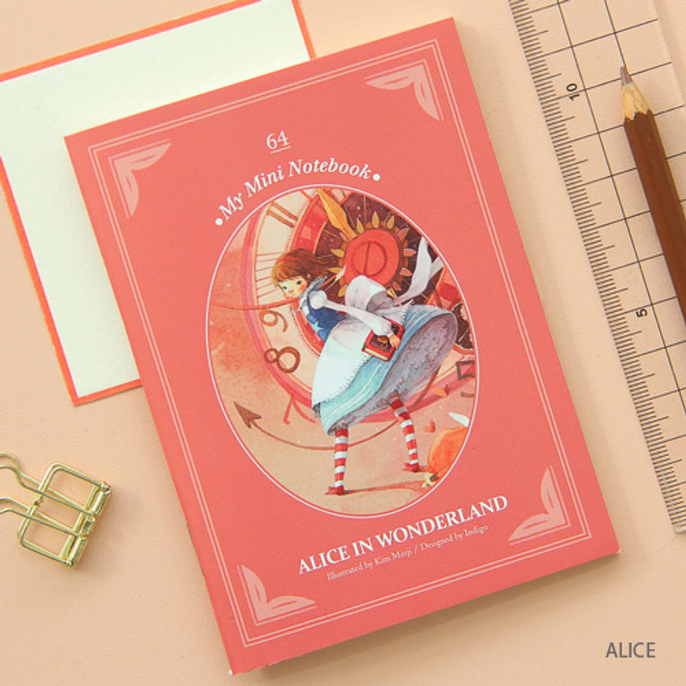 Alice - Classic story small lined notebook