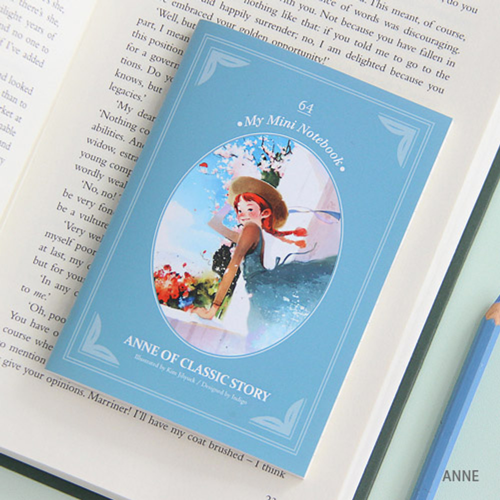Anne - Classic story small lined notebook