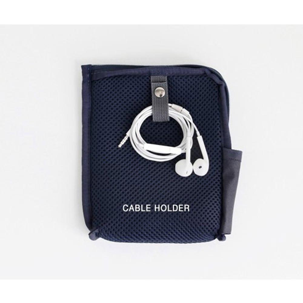 Cable holder - Walking in the air medium cable pouch