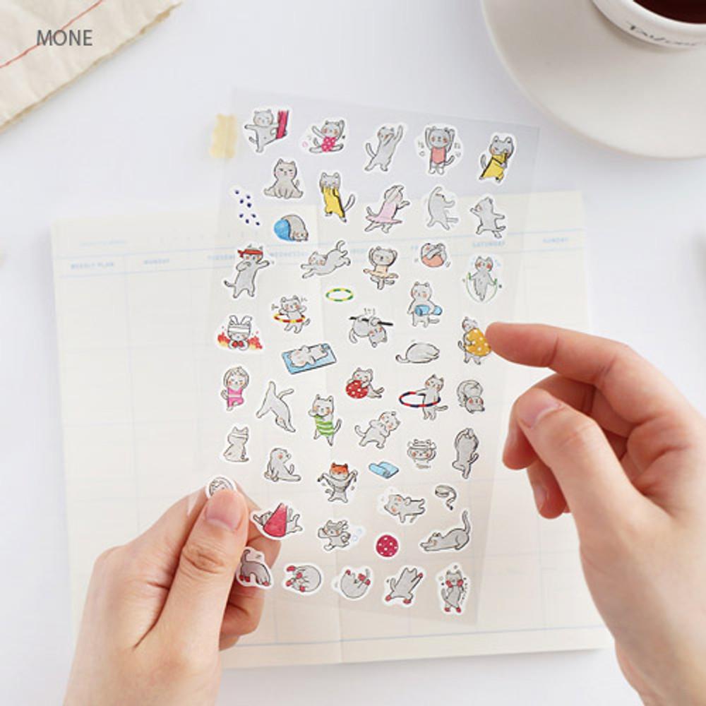 Mone - Hellogeeks petite deco sticker