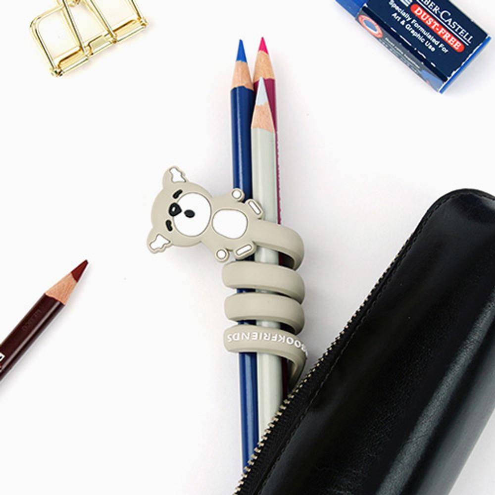Koala - Animal rubber cable & earphone organizer