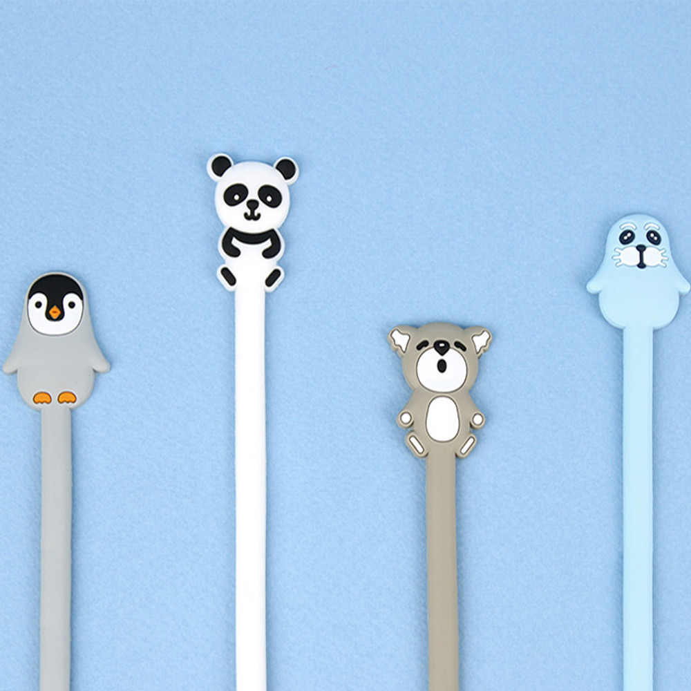 Animal rubber cable & earphone organizer
