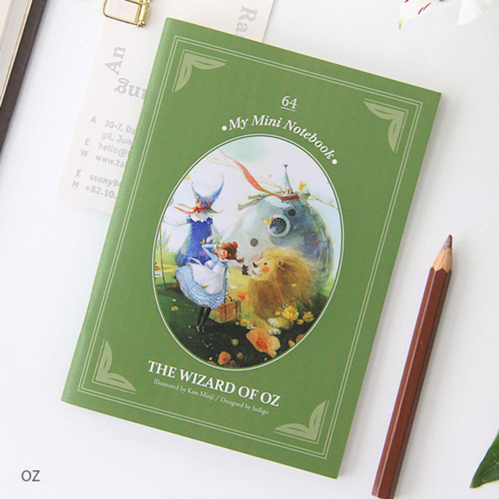 OZ - Classic story small lined notebook