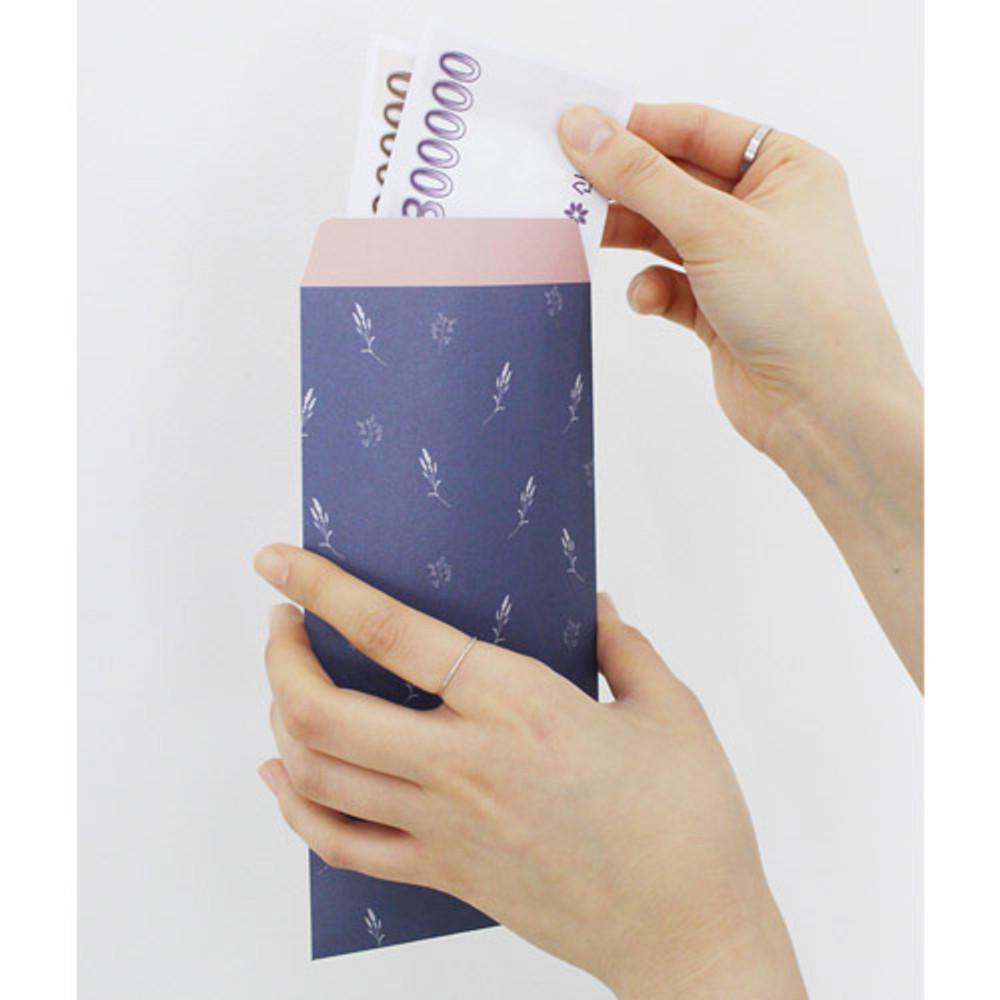 Melody gift envelope set vertical