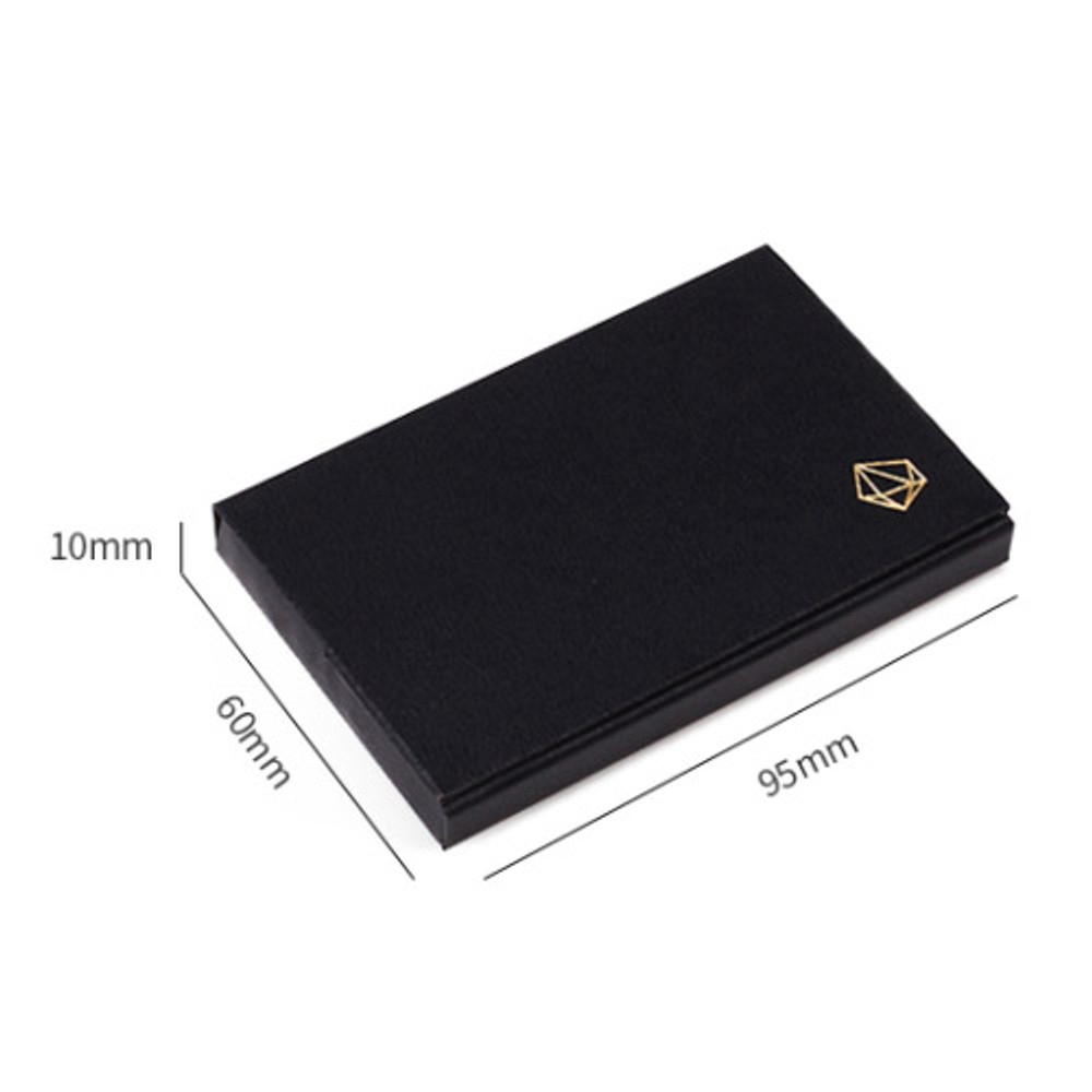 Size of Lapis simple paper card case