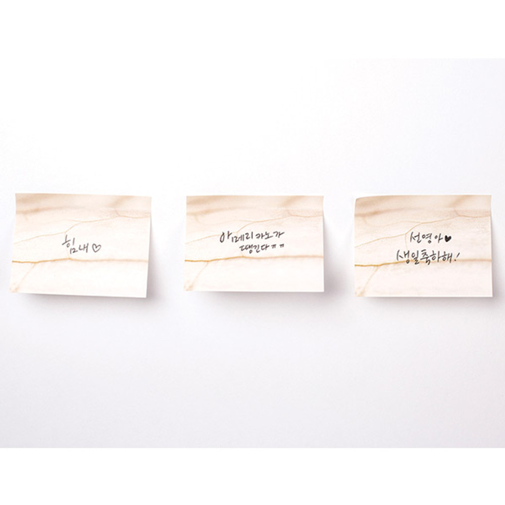 Brown - Onion sticky memo notes
