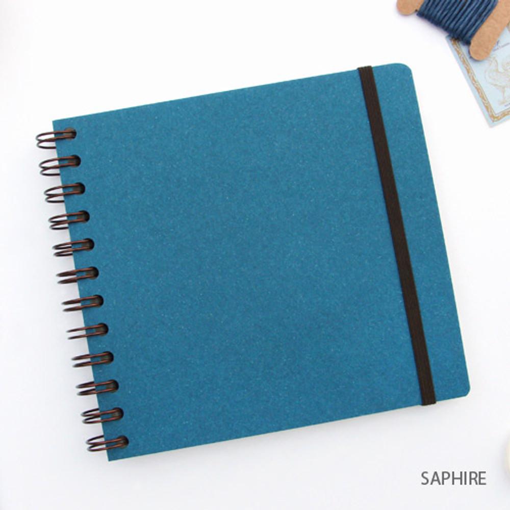 Saphire - Episode spiral scrapbook