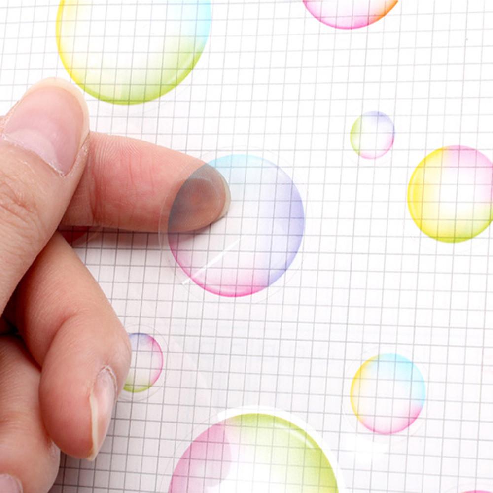 Pastel - Bubble bubble PVC deco sticker