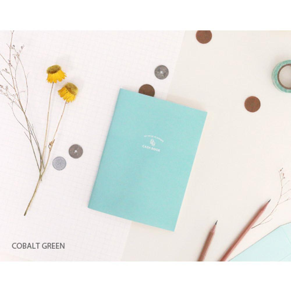 Cobalt green - My wise cash book planner