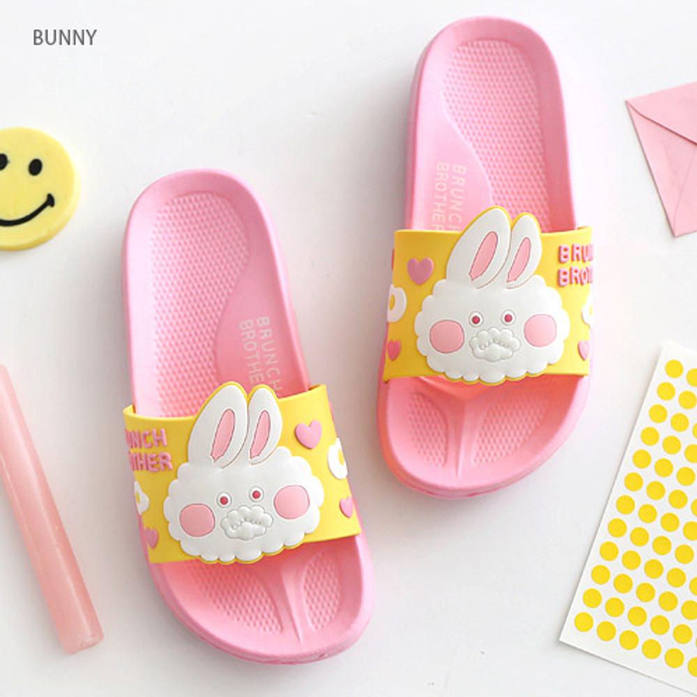 Bunny - Brunch brother PVC slide sandal