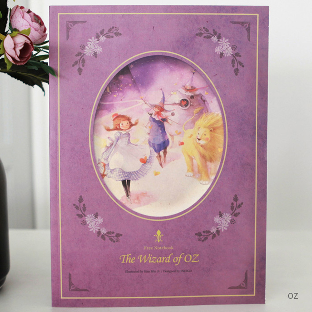 OZ - Classic story free lined notebook
