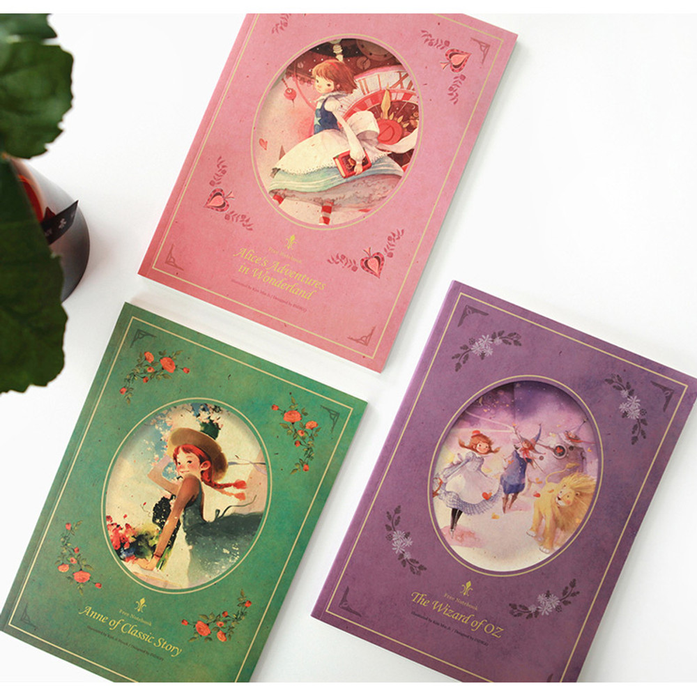 Classic story free lined notebook