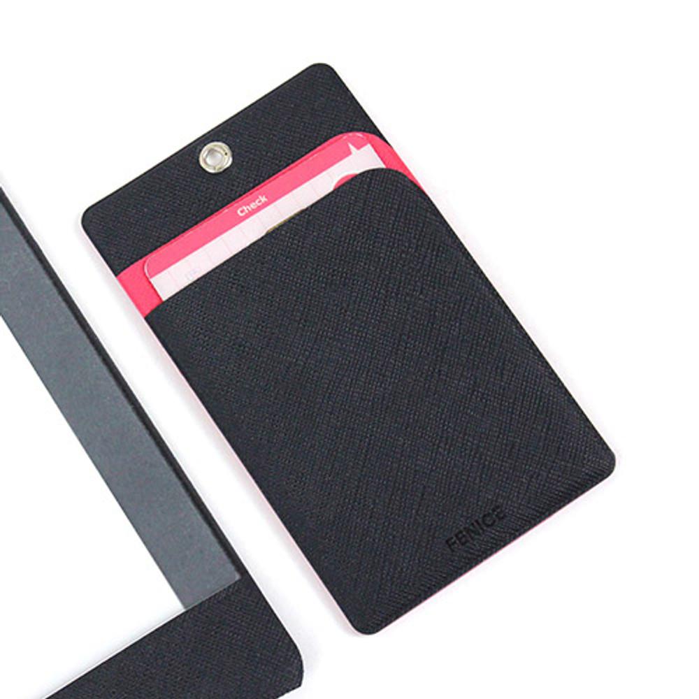 Navy - Premium business flat card holder case