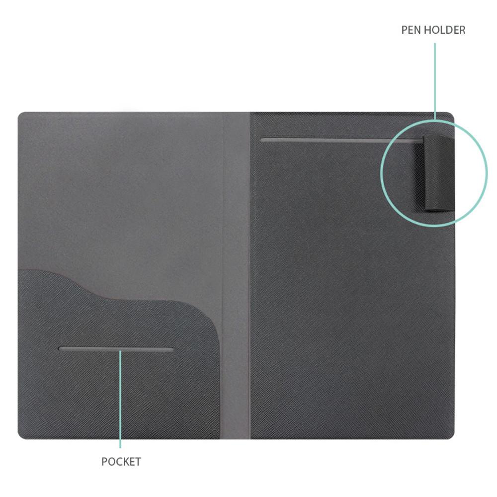 Pen holder, Card slot