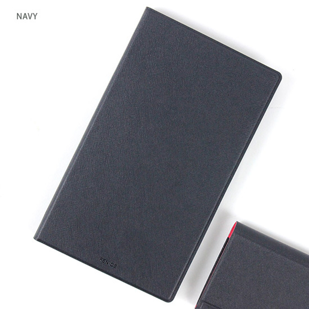 Navy - Premium business notepad holder