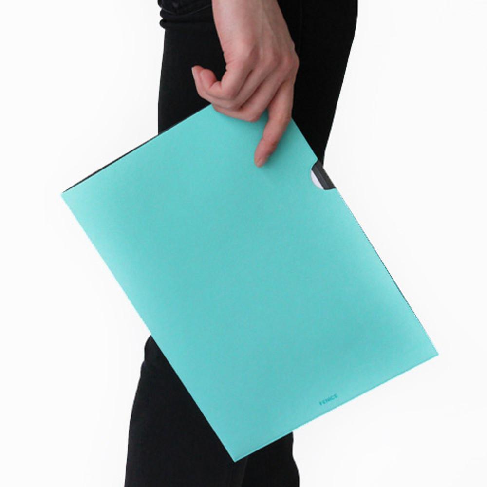 Mint - Premium business A4 document file holder