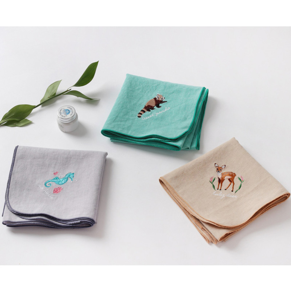 Tailorbird animal fastel small blanket
